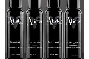 FREE Alister Shampoo, Conditioner, or Lotion Sample