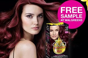 FREE Garnier Olia Haircolor Product at Walgreens after Rebate