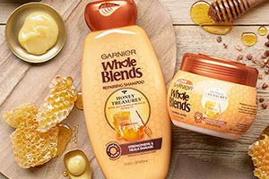 FREE Garnier Whole Blends Honey Treasures Sample
