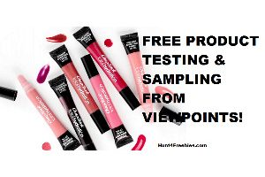 Possible FREE Product Testing and Samples from Viewpoints