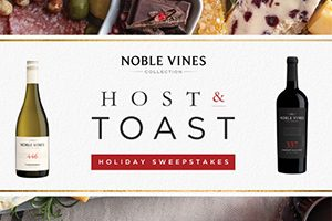 Noble Vines Holiday Host & Toast Sweepstakes (81 Winners!)