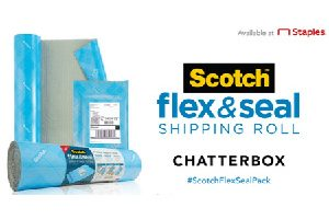 Possible FREE Scotch Brand Flex & Seal Shipping Roll Chatterbox Kit