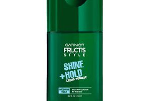 FREE Garnier Fructis Shine + Hold Liquid Hair Pomade Sample