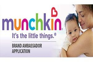 Munchkin Baby Product Testing Opportunity