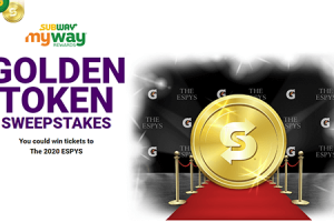Subway Golden Ticket Instant Win Game (2,215 Winners!)