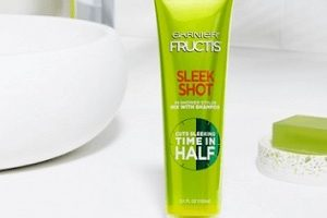 FREE Garnier Fructis Sleek Shot In-Shower Styler Sample