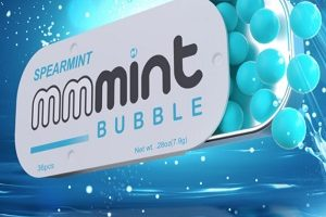 FREE Mmmint Bubble Mints Sample