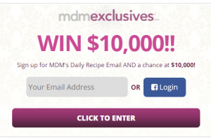 You Can Win $10,000 from MDM Exclusives