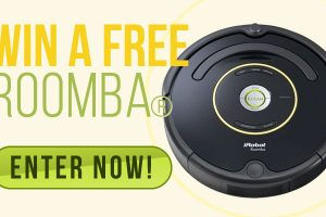 Win a Free ROOMBA: The Robot Vacuum!!!🤩