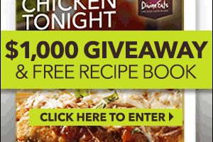 Chicken Tonight! Get Free Recipe Book & $1000 Giveaway