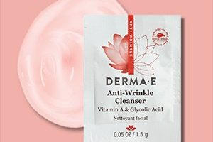 FREE Derma E Anti-Wrinkle Cleanser Sample
