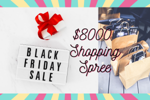 Black Friday Shopping Spree: You, Will, Be Given $8,000 To Go Online Shopping On Black Friday
