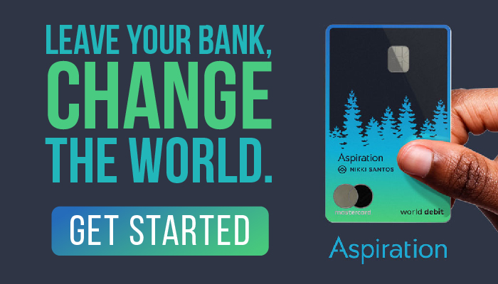 Aspiration Spend & Save Account: Save Money, Save the Planet, Earn Interest, and Enjoy Cash Back!