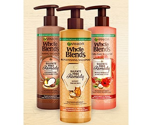 "Garnier ""Sulfate Free Remedy"" Giveaway Sweepstakes (150 Winners!)"