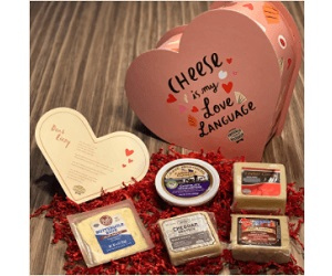 Wisconsin For the Love of Cheese Sweepstakes (500 Winners!)