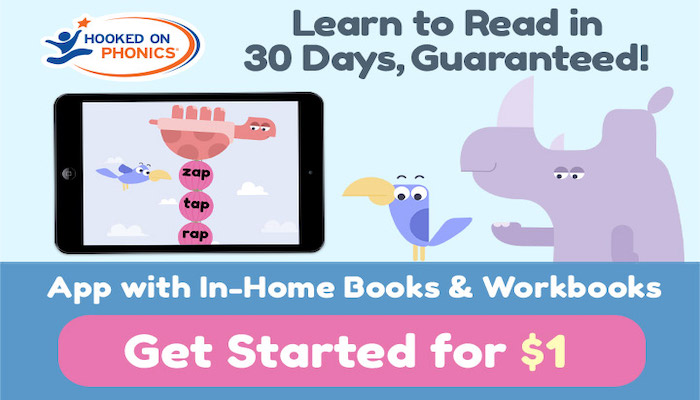 Hooked on Phonics: Your Child Will Read In 30-Days, Guaranteed!