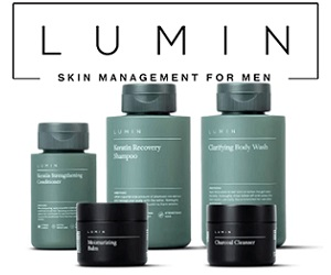 FREE LUMIN Skincare for Men for only $3 Shipped