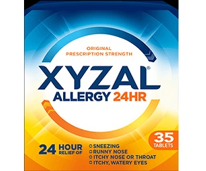 FREE Xyzal Allergy 24HR Allergy Relief Sample