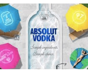 Absolut Spring Sweepstakes (144 Winners!)