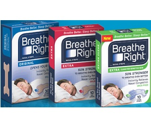 FREE Sample of Breathe Right Advanced Strips