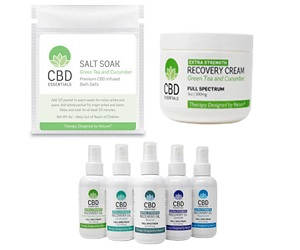 FREE CBD Essentials Product Sample