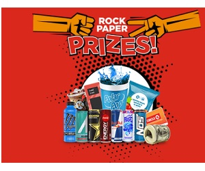 Circle K Rock Paper Prizes Instant Win Game and Sweepstakes (Over 1.3 Million Winners!)